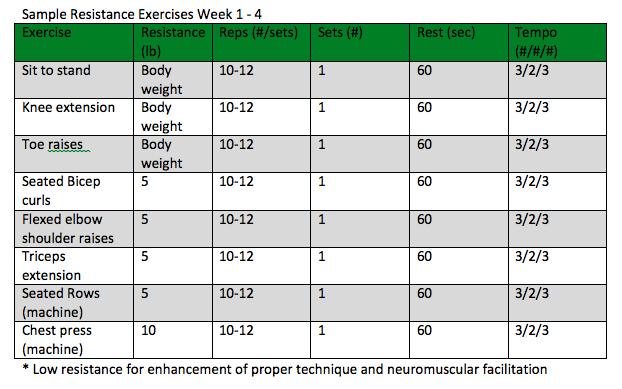 12 Week Workout Plan Template – Sample Training Plan