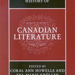 Cambridge History of Canadian Literature