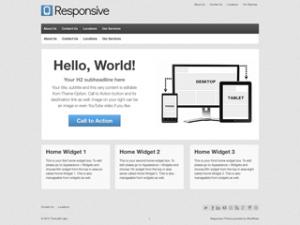 New Theme: Responsive