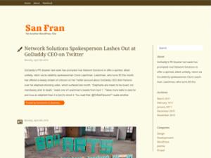 New Theme: San Fran