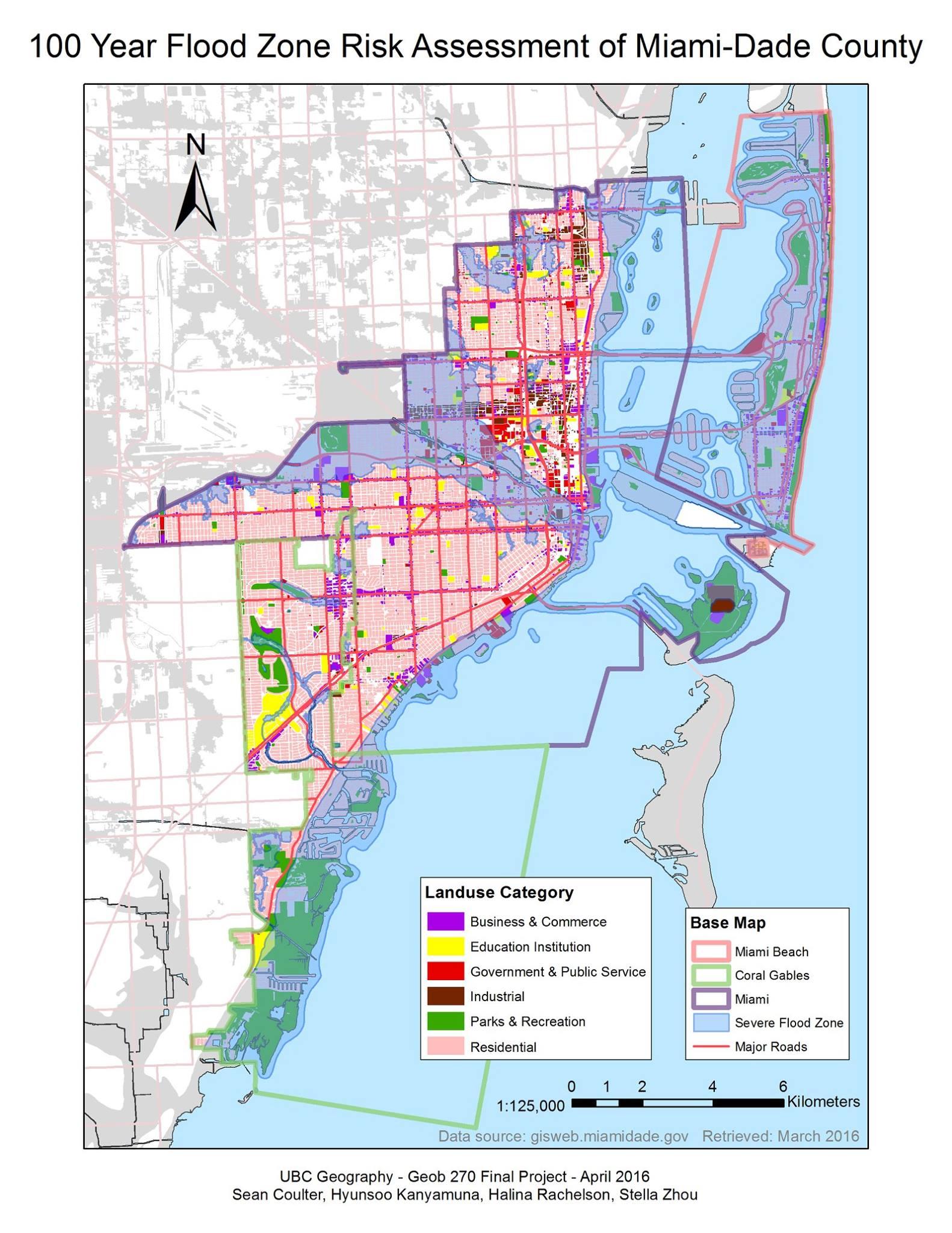 flood zone map miami dade - maps catalog online