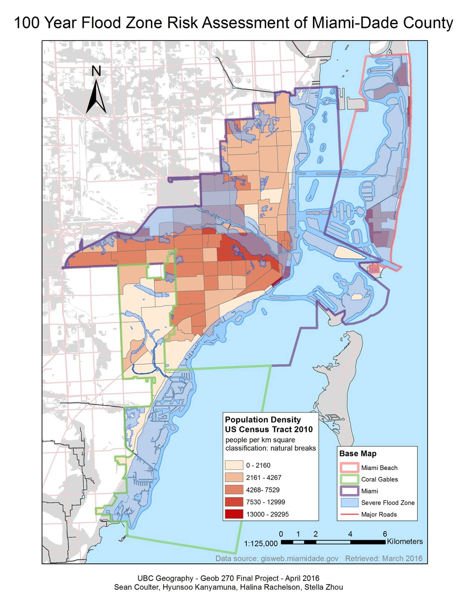 flood vulnerability analysis in miami, fl (final project
