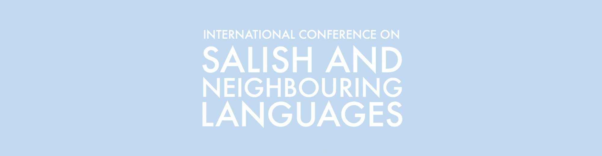 55th International Conference on Salish and Neighbouring Languages