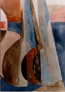 Setar,Watercolor,35cm by 50cm