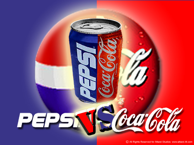 vertical and horizontal analysis of pepsi and coke