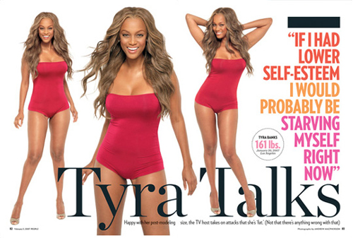 what size is tyra banks