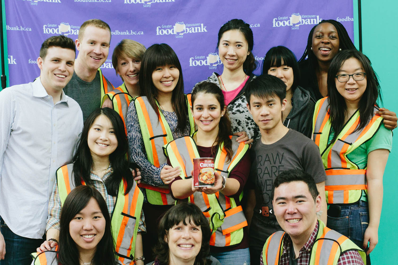 MM Cares: Volunteering at the Foodbank!