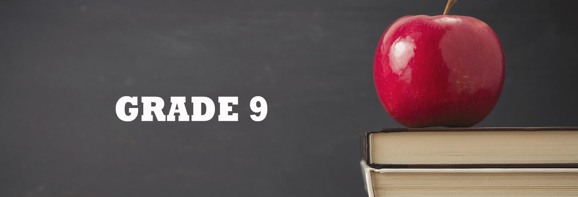 Grade 9 | The English Corner