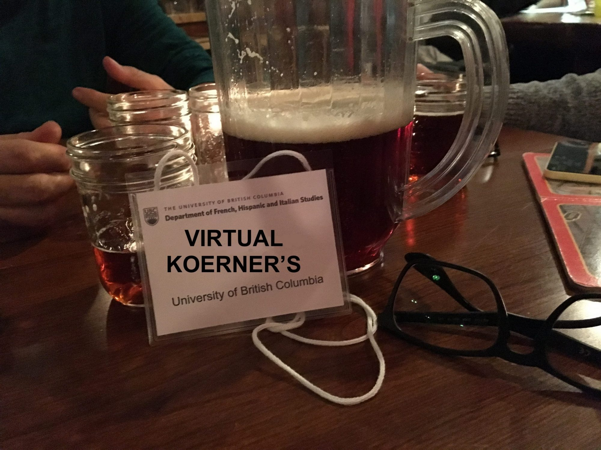 Virtual Koerners, or persistence in times of pandemic